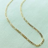 18k Gold Classic Figaro Chain