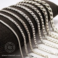 Sterling Silver Curb Link Cuban Chain