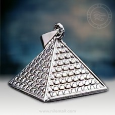 Silver Great Pyramid of Khufu Pendant